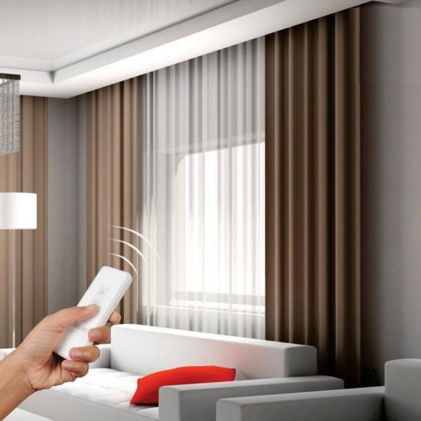 Как выбрать электрокарниз для дома