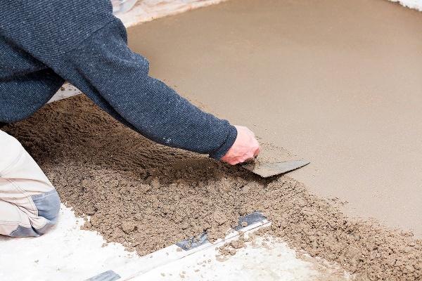 Мелкозернистый бетон состав