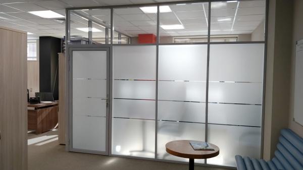 Строительство офисов для малого и среднего бизнеса: установка перегородок