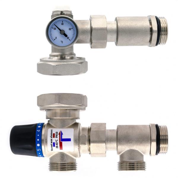 Термосмесительные клапаны, их типы