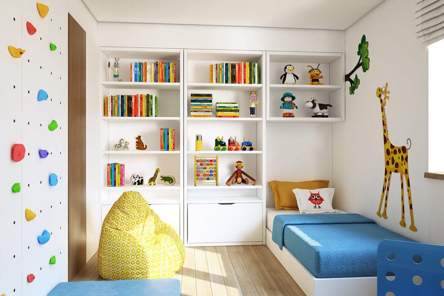 Мои 40 идей для детской комнаты