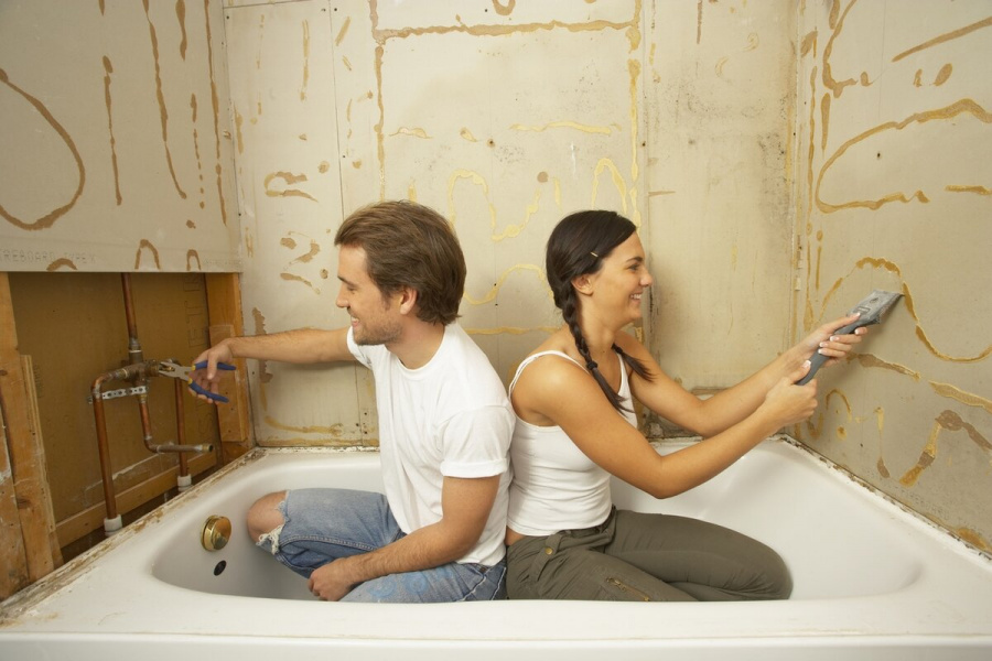 Ремонт в ванной комнате: виды, этапы и ошибки